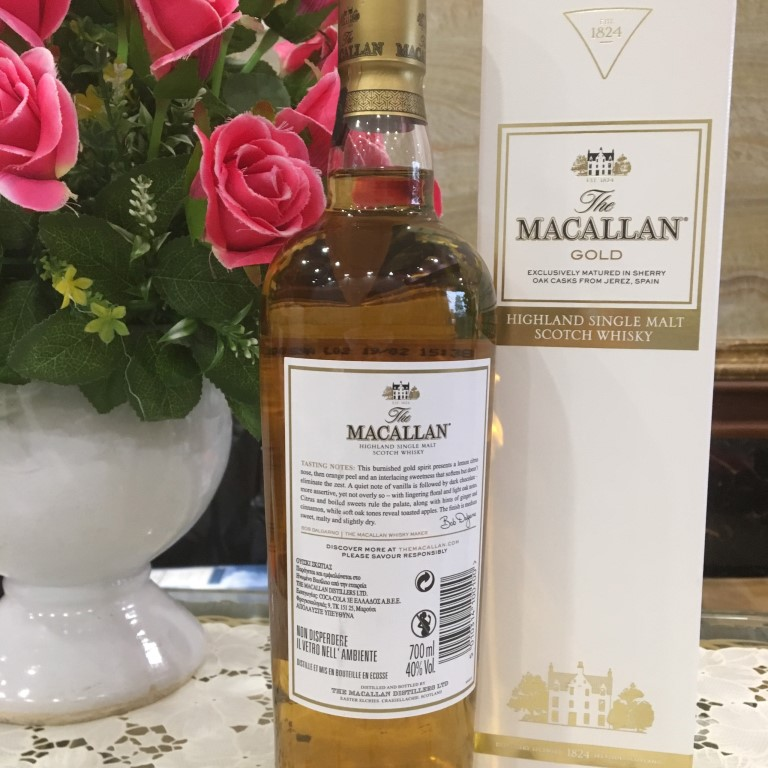 Ruou Macallan Gold 10