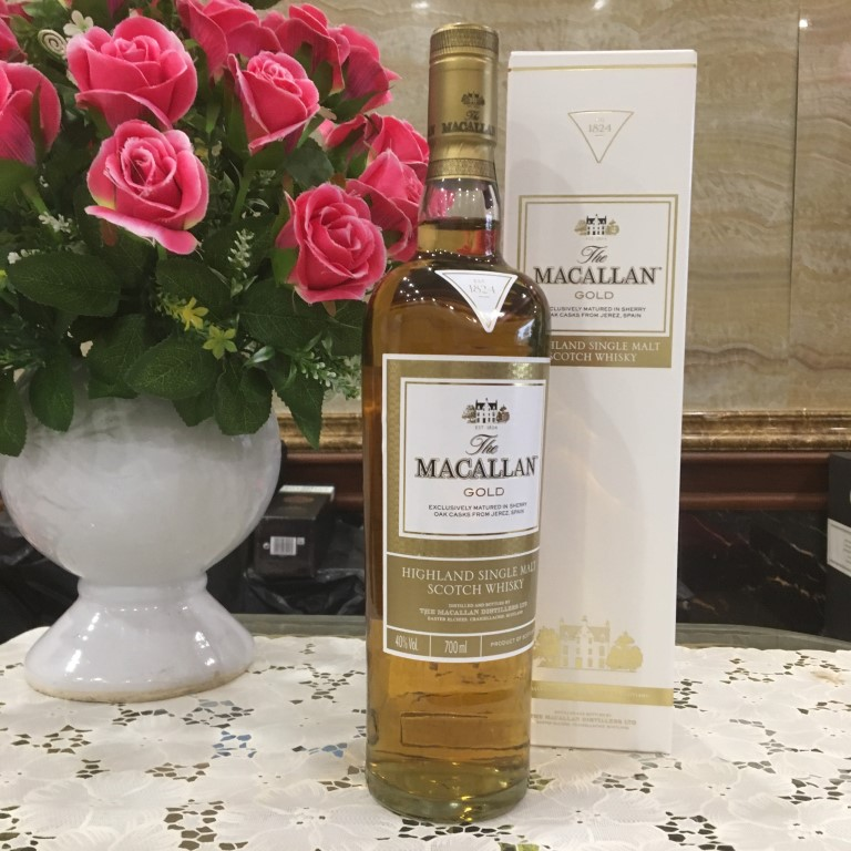 Ruou Macallan Gold 11
