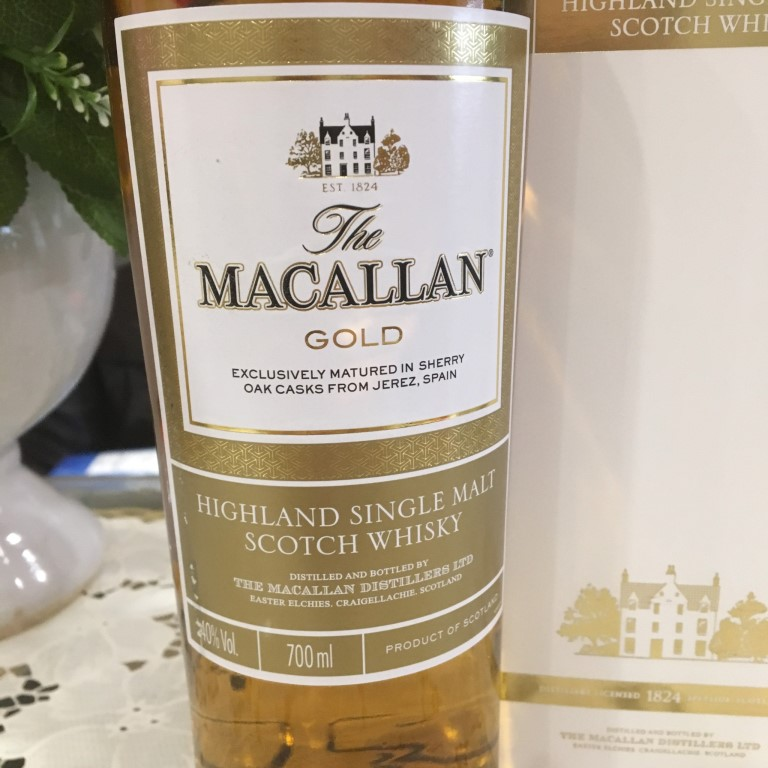 Ruou Macallan Gold 2