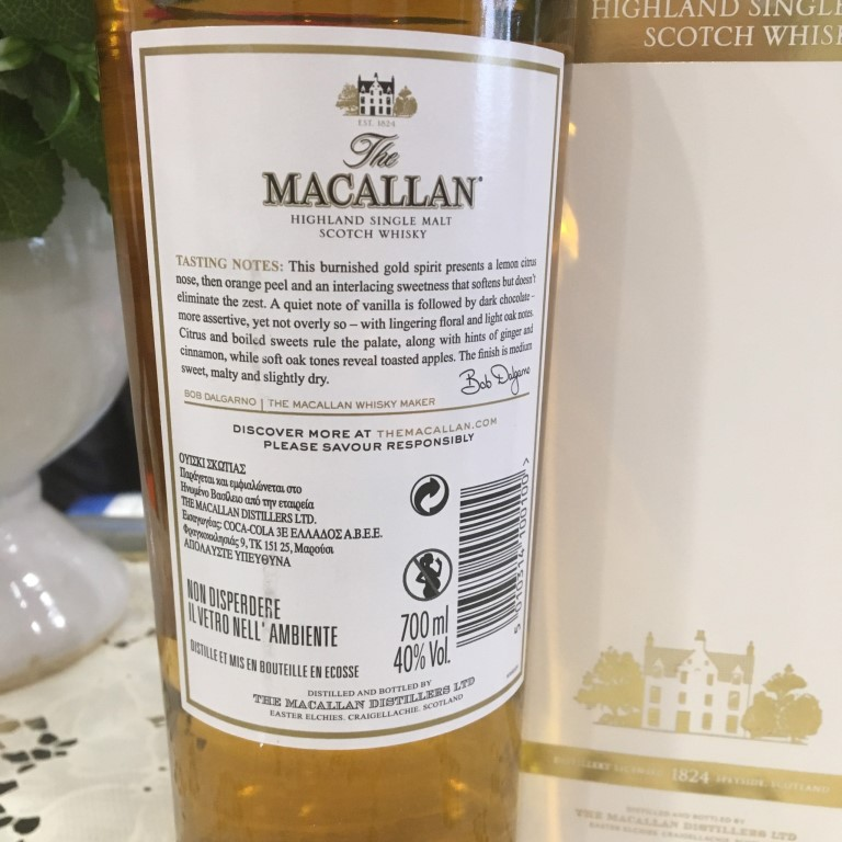 Ruou Macallan Gold 4