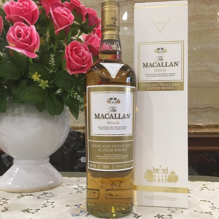 Ruou Macallan Gold 8