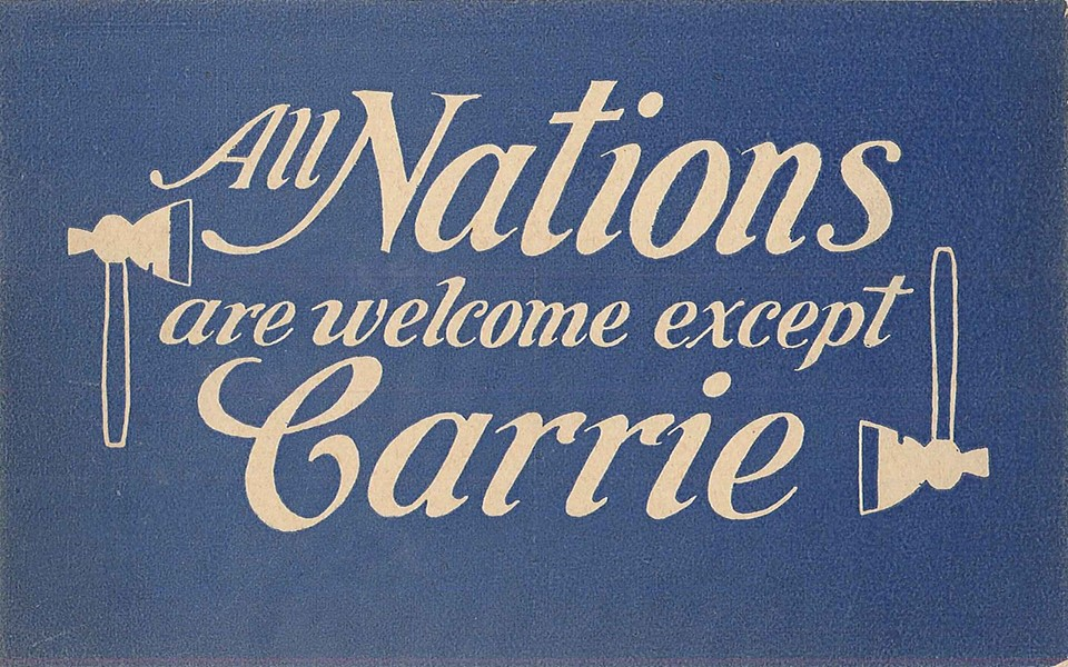 All Nations Welcome But Carrie