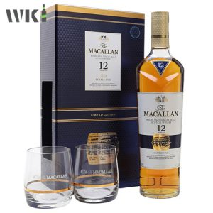 MACALLAN 12 YEAR DOUBLE CASK (GIFT SET)