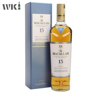 MACALLAN 15 YEAR TRIPLE CASK