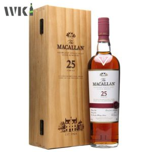 MACALLAN 25 SHERRY OAK