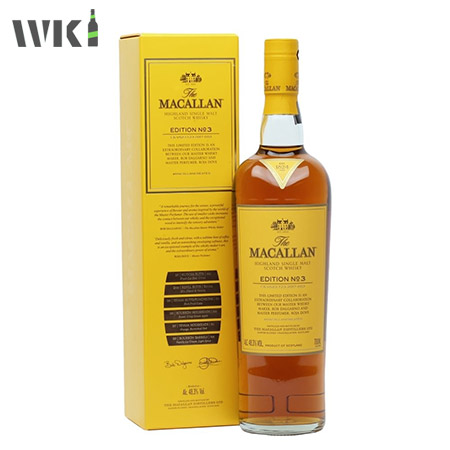 MACALLAN EDITION NO 3