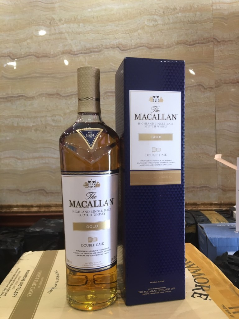 Macallan Gold Double Cask 1