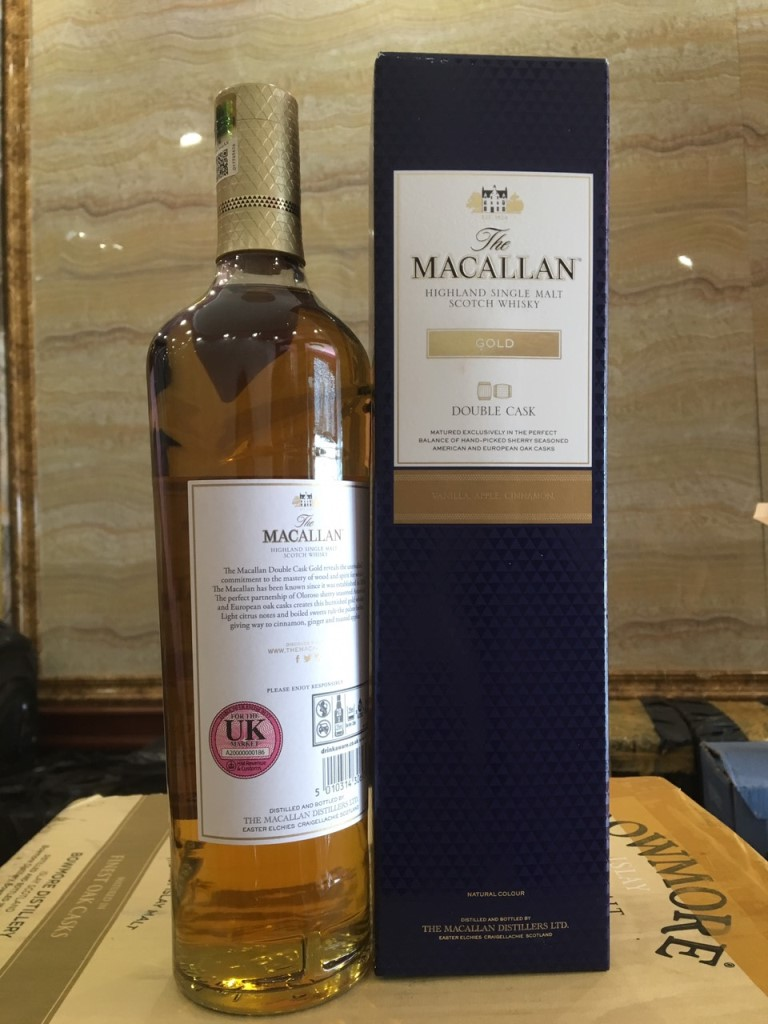 Macallan Gold Double Cask 2