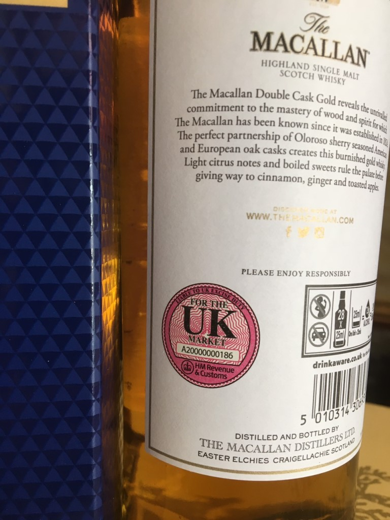 Macallan Gold Double Cask 4