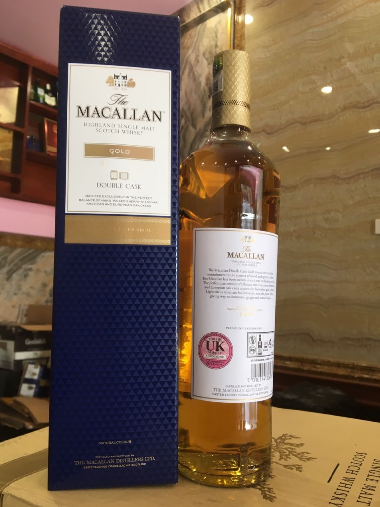 Macallan Gold Double Cask 6