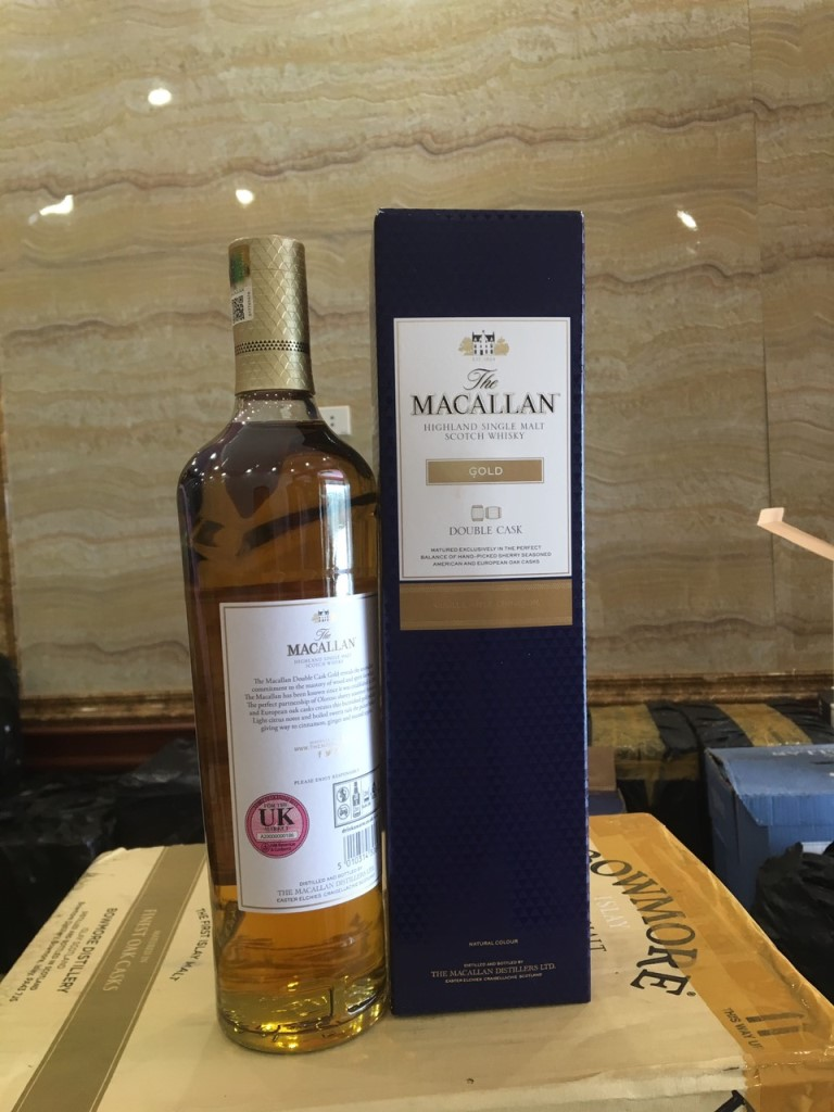 Macallan Gold Double Cask 7
