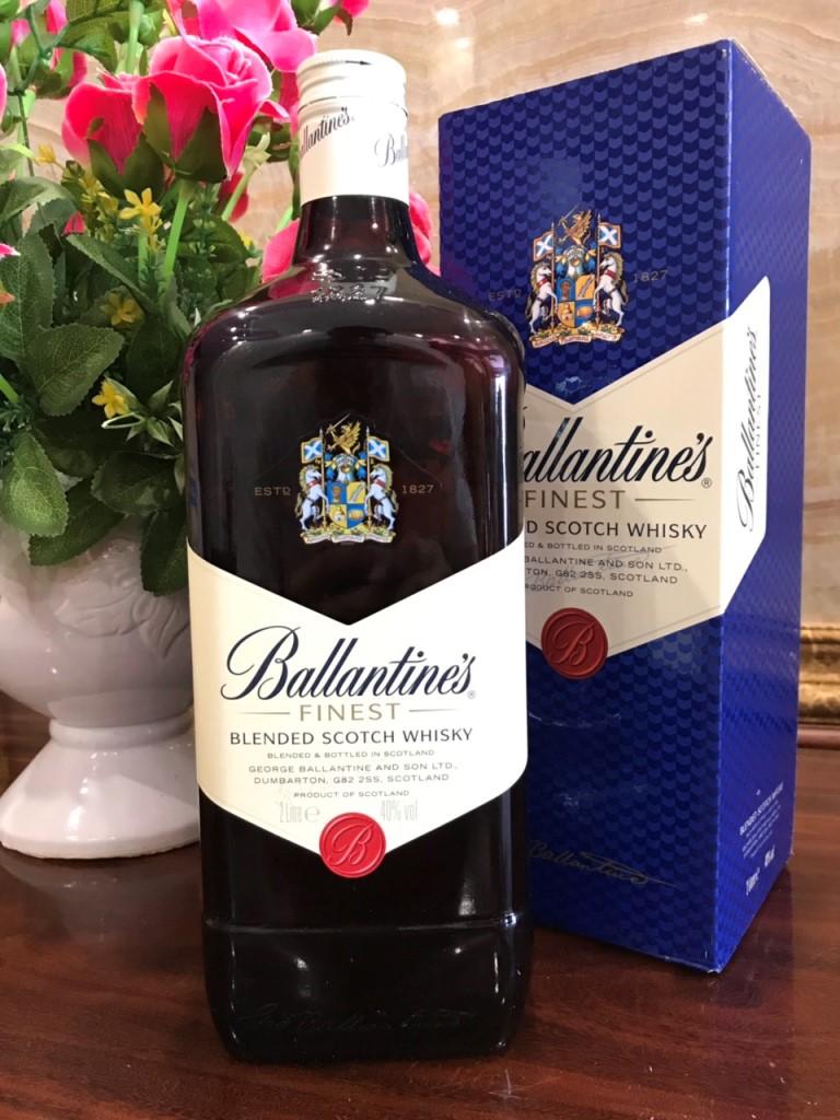 Ruou Ballantine Finest 2 lit hang Au xin 2