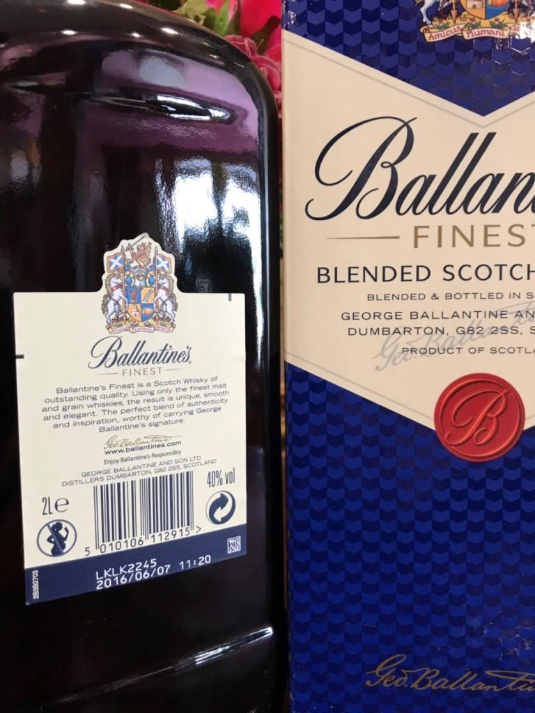 Ruou Ballantine Finest 2 lit hang Au xin 3