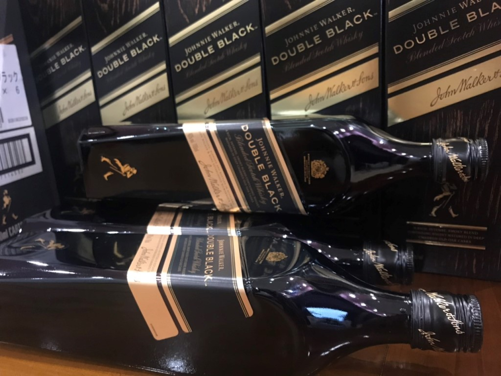 Ruou Johnnie Walker Double Black 700ml Nhat Ban 2