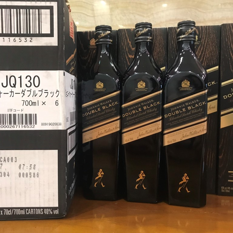 Ruou Johnnie Walker Double Black 700ml Nhat Ban 7