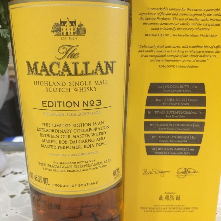 Ruou Macallan Edition No 3 7