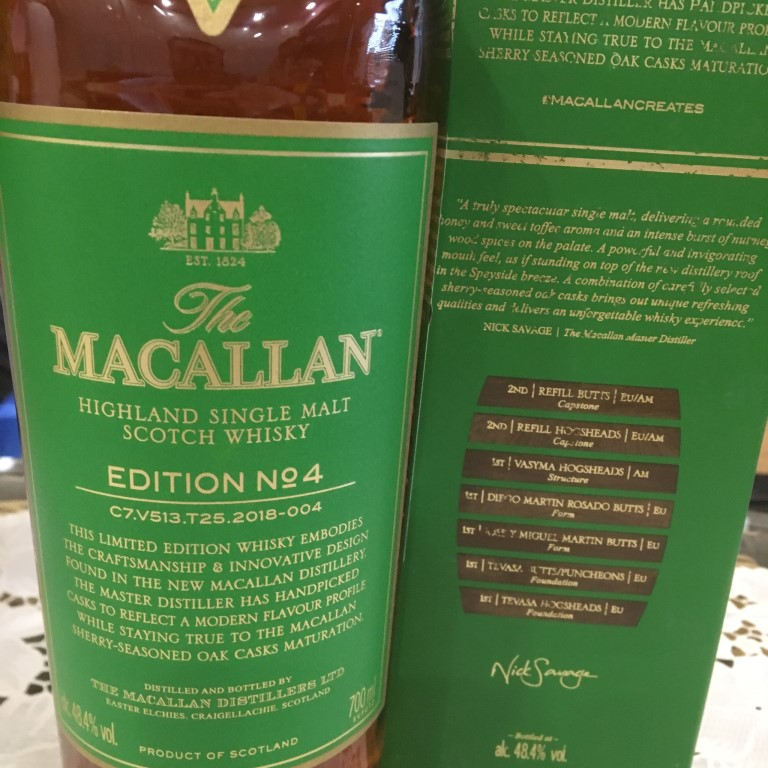 Ruou Macallan Edition No 4 2