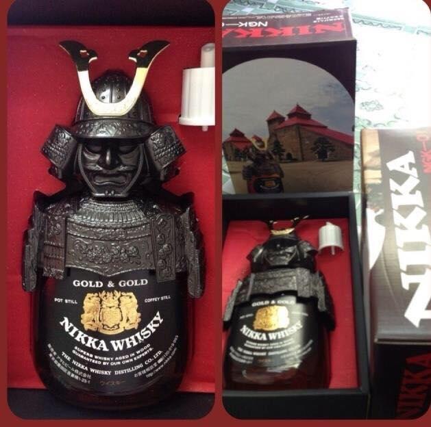 Ruou Nikka Samurai gold gold 750ml 2