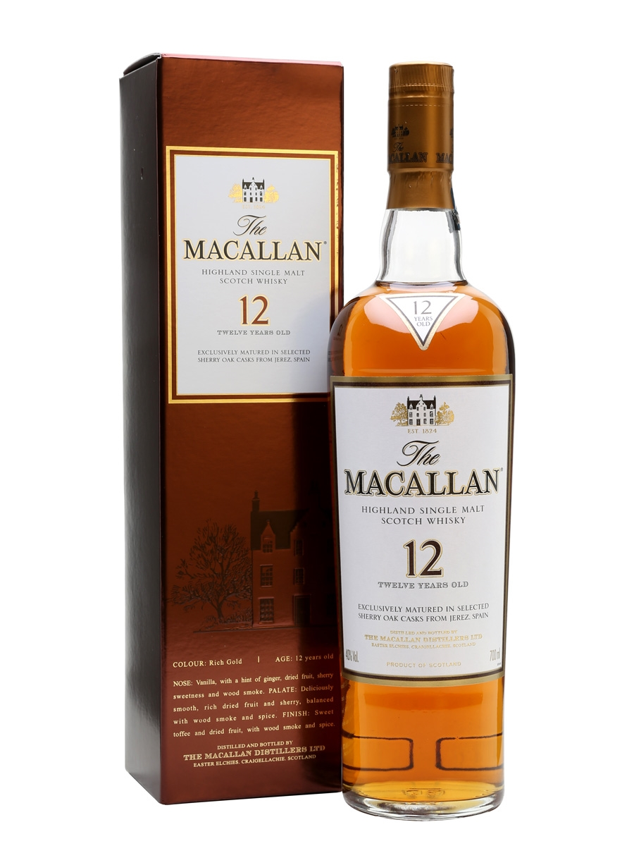 The Macallan 12 Sherry Oak
