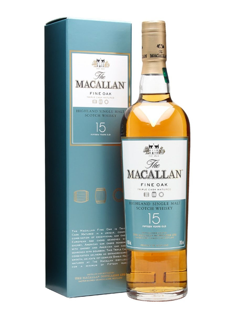 The Macallan 15 Fine Oak