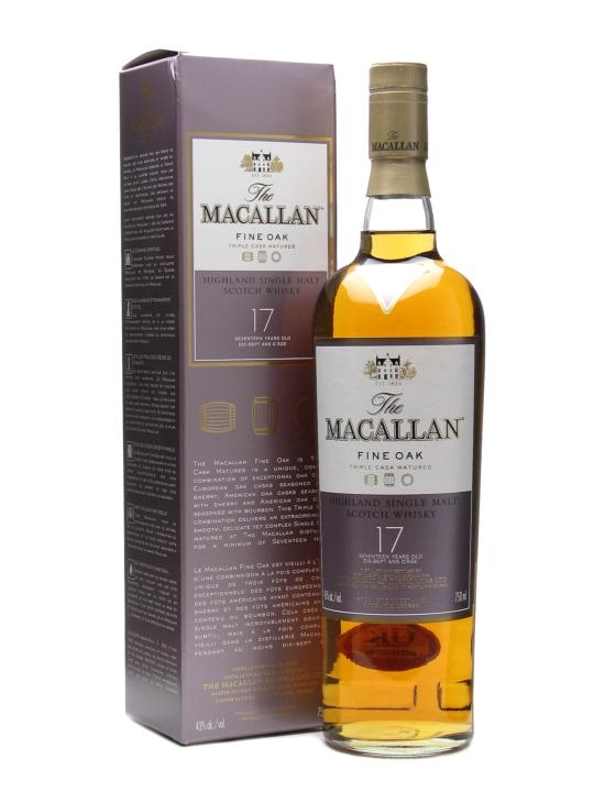 The Macallan 17 Fine Oak