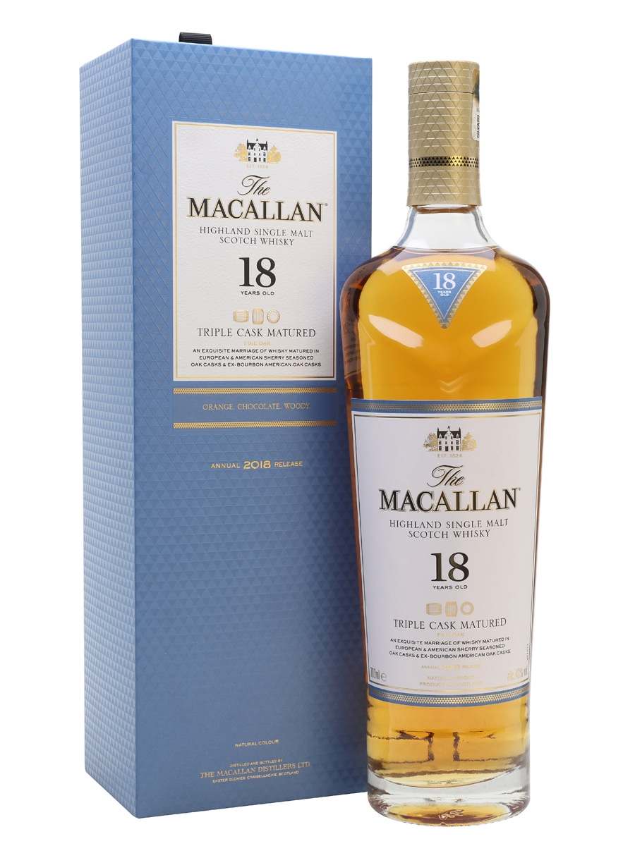 The Macallan 18 Triple Cask