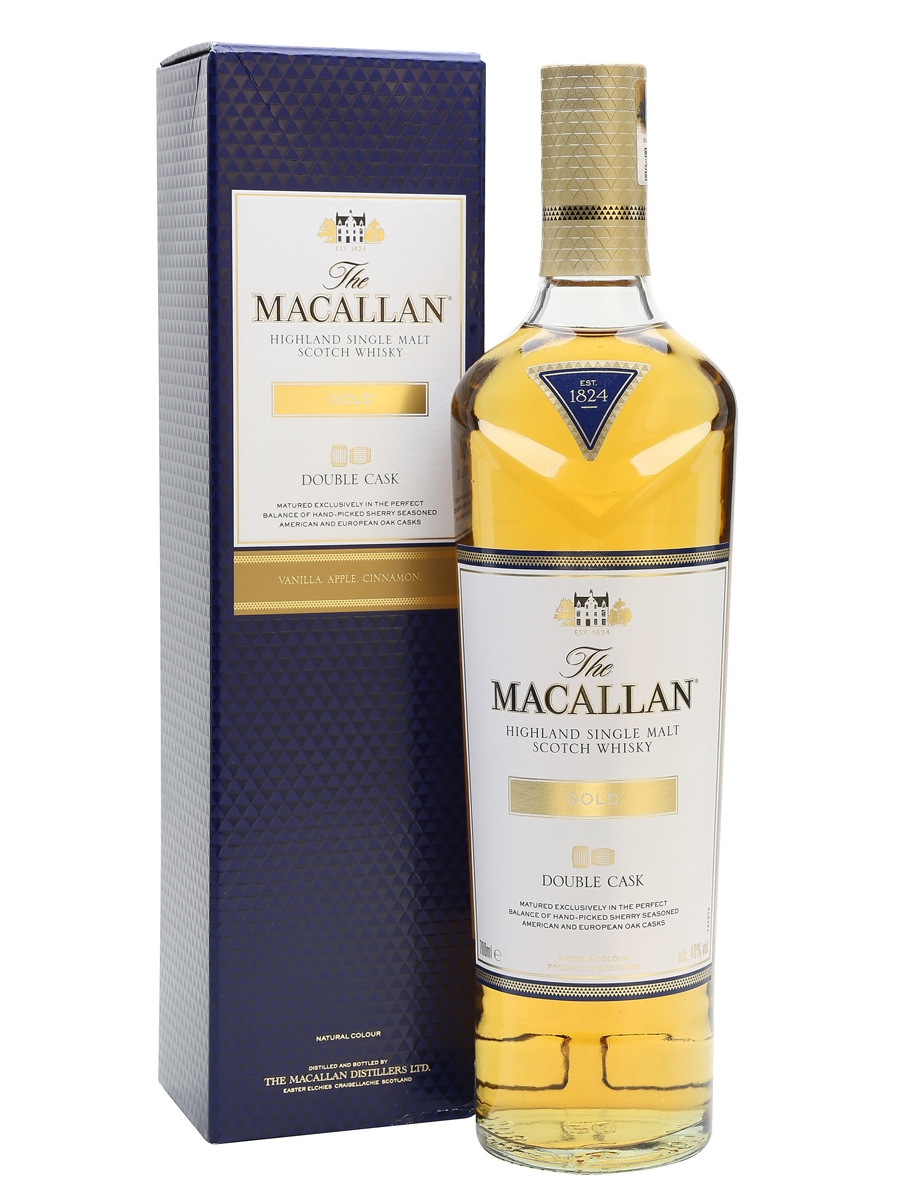 The Macallan 1824 Gold Double Cask