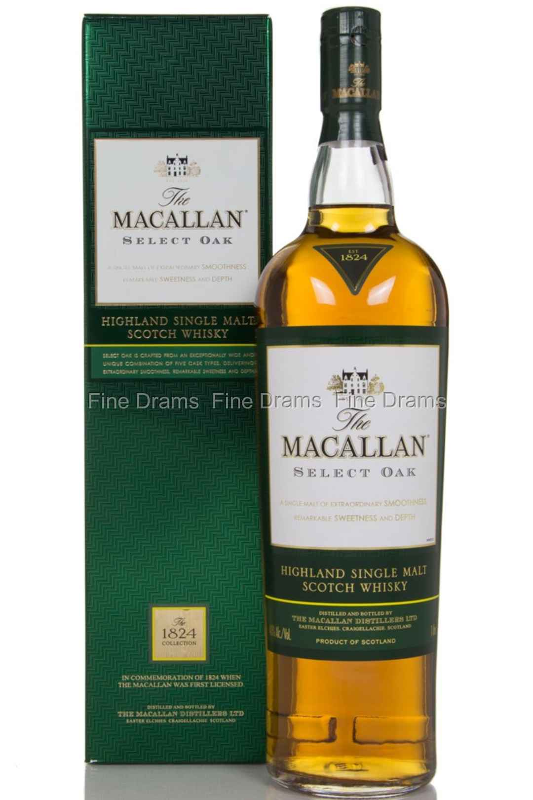 The Macallan 1824 Select Oak 1l