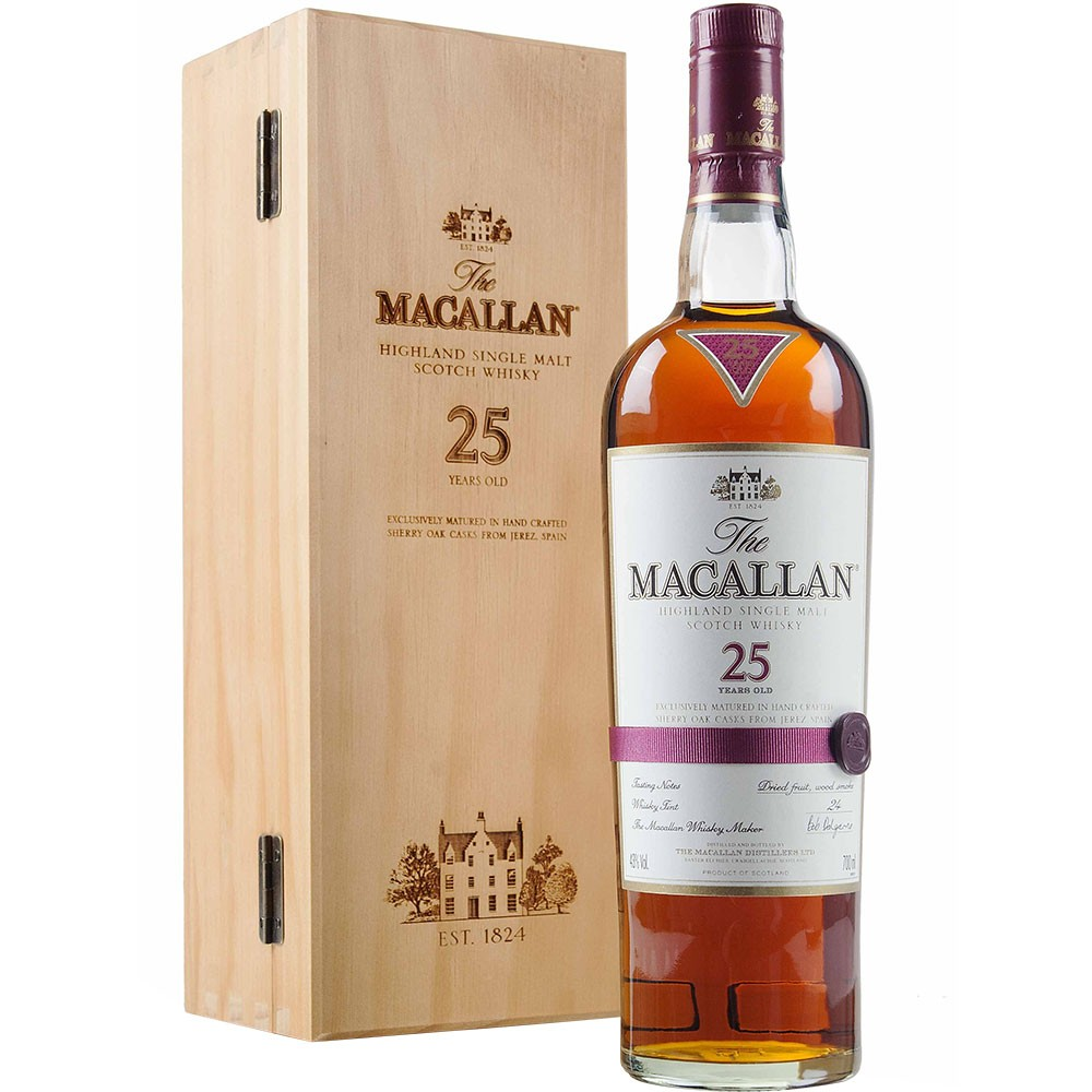 The Macallan 25 Sherry Oak