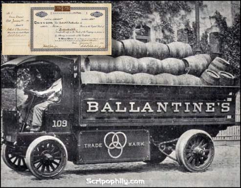 Lich su Ballantine 1900