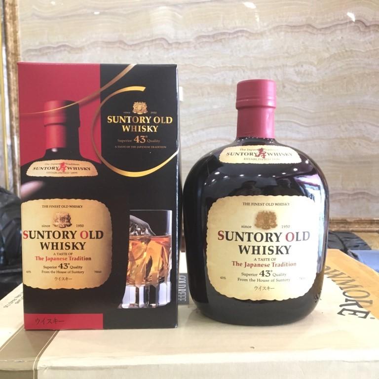 suntory old whisky 2