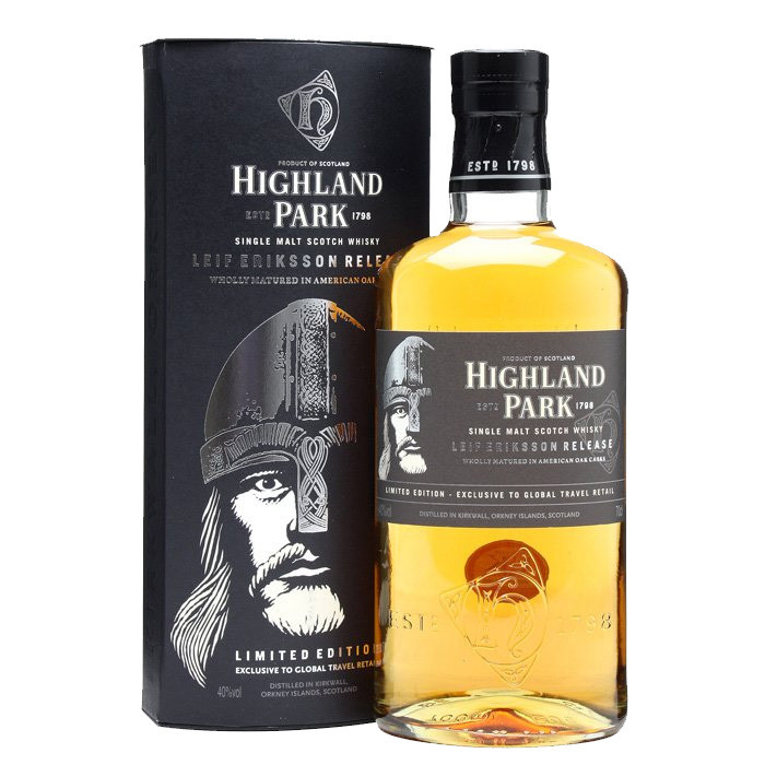 Ruou highland park leif eriksso limited edition