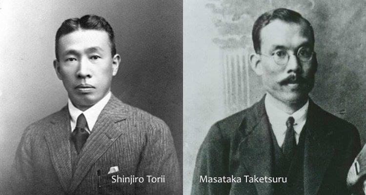 Shinjiro Torii va Masataka Taketsuru hai nguoi khai sinh whisky Nhat Ban