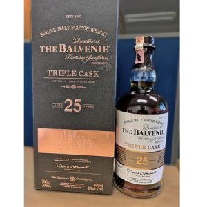 The Balvenie 25 year triple cask